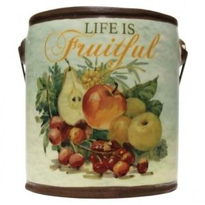 NEW! Life is Fruitful Farm Fresh Candle